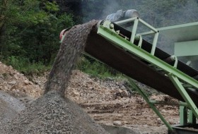 移动制砂机客户生产视频